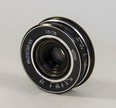 Industar 69 M39 28mm f/16 USSR Lens