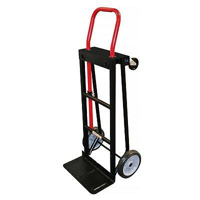 fbbe860198b Milwaukee Hand Truck 500 lbs Push Cart Hauling Convertible Moving Dolly  Trolley