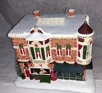 Coca Cola Hawthorne Village Holiday Hardware Store Building!