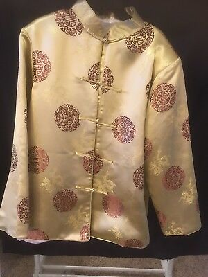 Women's Oriental Asian jacket loop closures