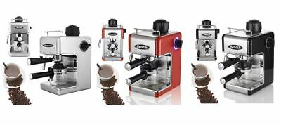 Sentik Stainless Steel Steam Pump Espresso Cappuccino Latte Coffee Maker Machine