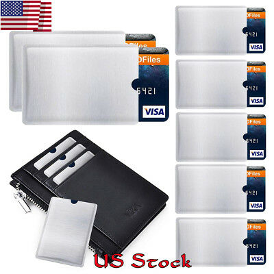 RFID Blocking Sleeve Credit Card Protector Bank Card Holder Credit Card Covers