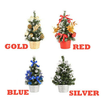Artificial Tabletop Christmas Tree Decorations Festival Miniature Tree 20cm L