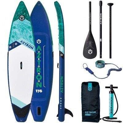 AZTRON URONO 11.6 aufblasbares Stand UP Paddle Board ISUP DOPPELKAMMER SUP