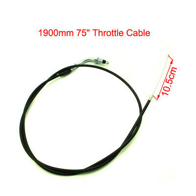 """1900mm 75"""" Throttle Cable For 33cc 43cc 49cc Standing Gas Scooter GoPed"""
