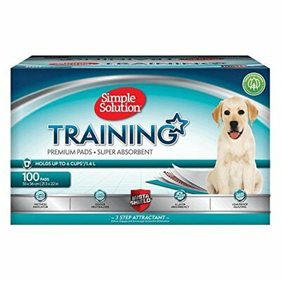 Simple Solution Dog & Puppy Training Pads 6 x Layer Leak Protection 100 Pack NEW