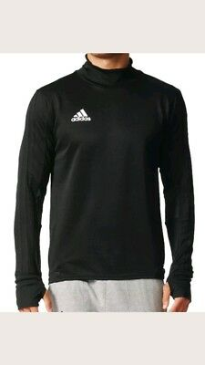 adidas Performance Tiro 17 Training Top schwarz/grau - Fußball Sweatshirt BK0292