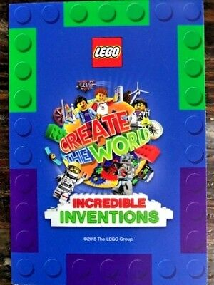 35 Intergalactic Girl Sainsbury/'s Incredible Inventions Series 2 Lego Cards No