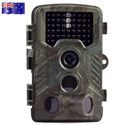 16MP 1080P HD Hunting Trail Camera IR LED Motion Activated Security Wildlife AU