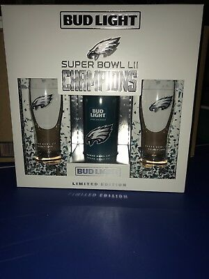"""Limited Edition Philadelphia Eagles """"Philly Philly"""" Super Bowl Bud Light"""