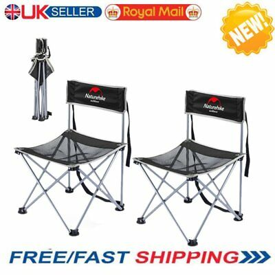 1/2 PCs PORTABLE FOLDING CAMPING STOOL CHAIR SEAT HIKING BBQ OUTDOOR FISHING NEW