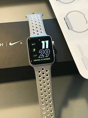 Apple Watch Series 2, Nike Edition, 42mm, Silver Aluminum, Nike Sport Band