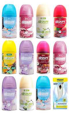 Airpure 6 or 12 Scented Refills - Free Machine With 12 Pack