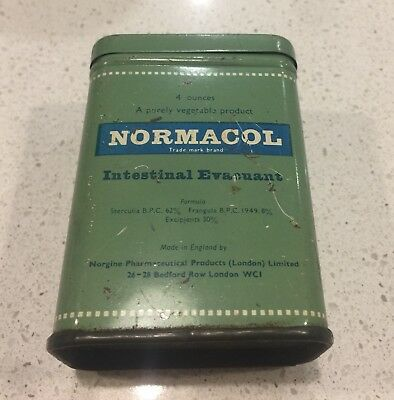 Vintage Tin Normacol