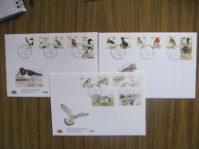 1992 FDC Birds of Ireland full set to 10 euro excellent condition unaddressed