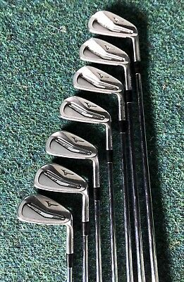 Mizuno MP 25 Iron Set. 4-PW. Stiff Flex Steel Shafts. R/H. VGC