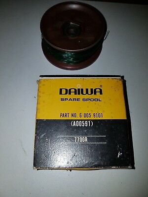 Vintage Daiwa 7700R Fishing Reel Spool In Excellent Condition
