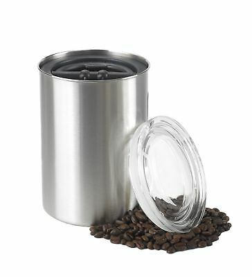 Airscape Coffee and Food Storage Canister, 64 oz - Patented Airtight Lid