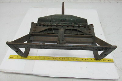 """R.E. Smith 12"""" Bench Top Sheet Metal Duct Work Cleat Bender Former"""