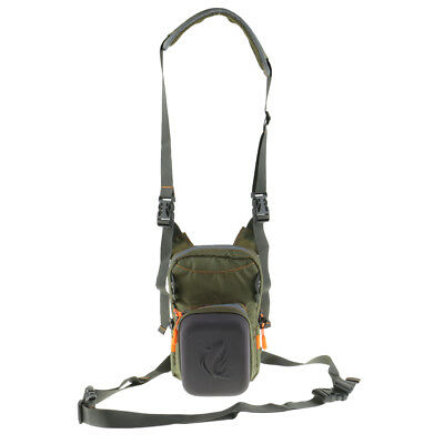 Fly Fishing Chest Bag Lightweight Chest Pack Outdoor Sports Waist Pack