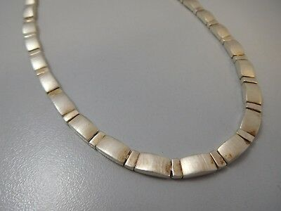 3170 || Exclusives Vintage Collier Necklace 925 Silber Super Optik !