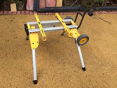 Dewalt De7400 Heavy Duty Rolling Table Saw Stand