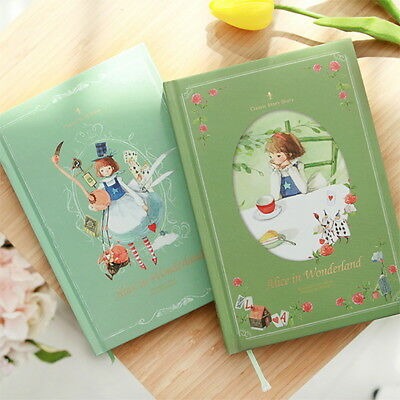 2019 Blank Diary Alice in Wonderland Agenda Monthly Planner Weekly Planners Cute