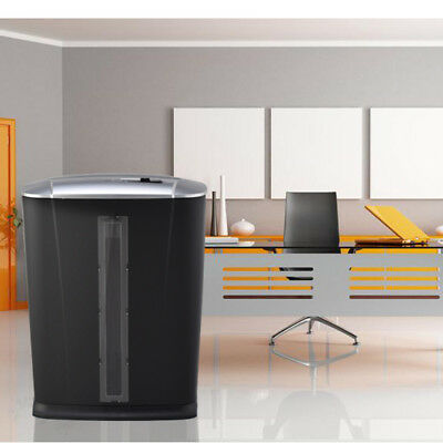 Micro-Cut Paper Shredder Thermal Protection 6-Sheet High-Security Office Home