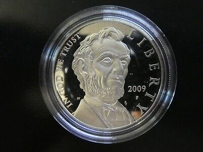 USA 1 Dollar 2009 , Abraham Lincoln , Silber *PP/Proof*