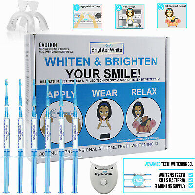 EZGO Teeth Whitening Kit 22%CP Gel Desensitizing gel Light Tooth Tray wipe Guide