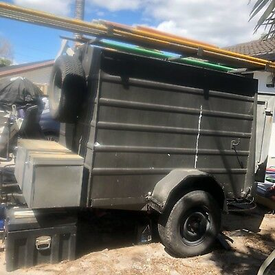 Enclosed Trailer 6 x 4 with Rego Included