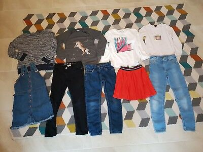 Girl's NEXT, Paul Smith, River Island, M&S TU Winter Clothes Bundle 7 - 8 Years