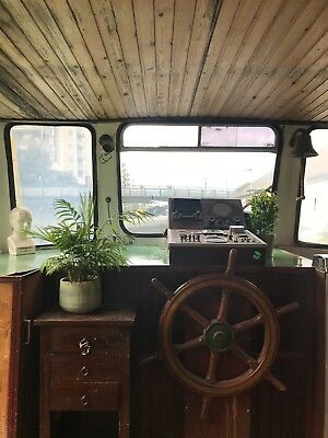 Beautiful dutch barge / houseboat / canal boat for sale PRICE REDUCED