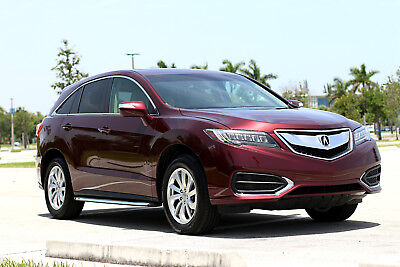 2017 Acura RDX ** FULLY LOADED TECH PACKAGE! ONLY 10k MILES! ** 2017 Acura RDX FWD BMW X1 2016 X3 MDX Q5 SUV technology AWD Volvo XC60 2015