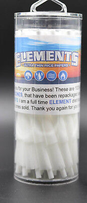 Elements Rice Cones King Size Authentic Pre-Rolled Cones 100 pack  w/ Filter