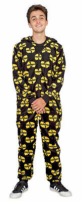 Adult Unisex Wu Tang Clan Logo Toss Pajama Union Suit