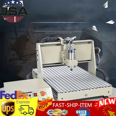 4 Axis Engraver Usb Cnc6040 Router Engraving Drilling Milling Machine 3D Cutter