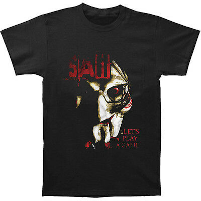 Man Saw Jigsaw Horror Thriller Movie Let's Play A Game T-Shirts Black