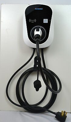 EV Electric Car Charger Level-2 Wall Mount 32 Amp, NEMA 14-50, J1772, Cord 24""