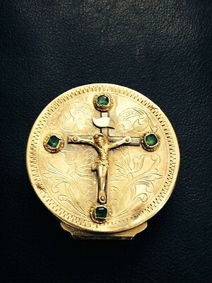 Snuff Box w emeralds owned by Armenian Patriarch of Jerusalem, 1811