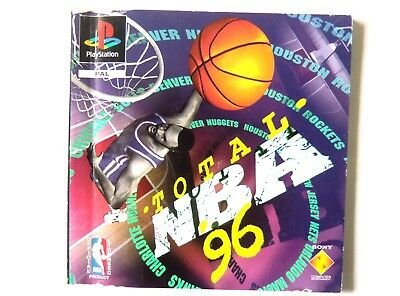 48870 Instruction Booklet - Total NBA '96 - Sony Playstation 1 (1995) SCES