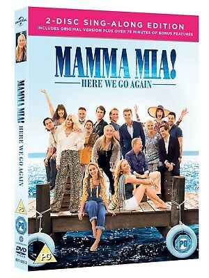 Mamma Mia! Here We Go Again – 2-Disc Sing-Along Edition (Includes Bonus Disc )
