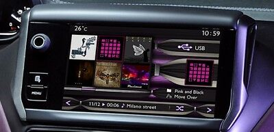 PEUGEOT 208 2008 Touchscreen Display FITS ANY 208 / 2008 FROM 2013-2016 Citroen