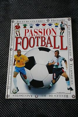 livre passion football / Nathan/ vintage