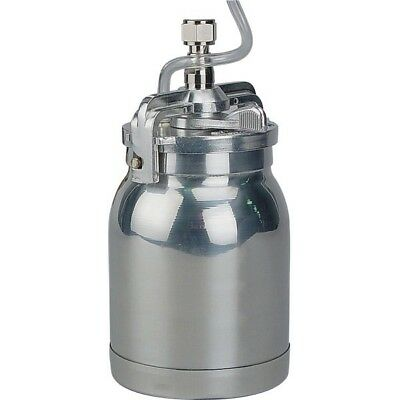Aluminium Suction Feed Pot For Paint Spray Gun Spare Cup Only 1 Liter