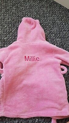 'Millie' Dressing Gown 12-18 Months
