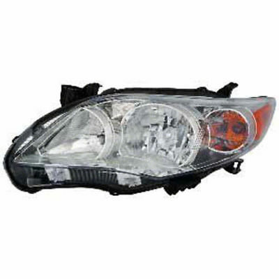 Replacement Headlight Head Lamp Left For 2011 2012 2013 Toyota Corolla Le/ce