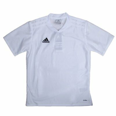 reputable site a1d4b 48b9f Adidas Boys White Soccer Jersey Adidas Tabela 11 Youth Soccer Apparel NEW