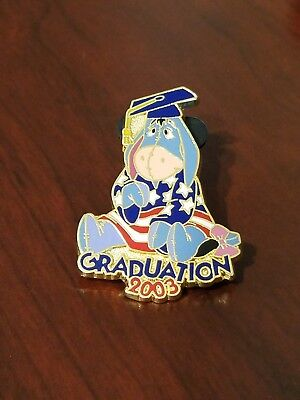 Disney Pin 24605 DS - Patriotic Eeyore Graduation 2003