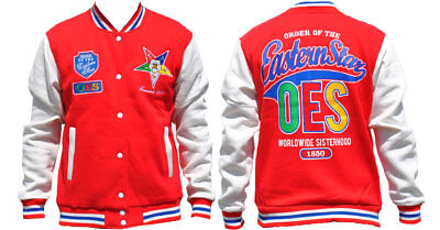 Order of the Eastern Star OES Fleece Jacket- Size Small-New!
